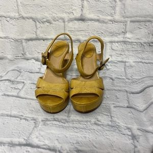 Frye Banana Corrina Campus Wedge Sandals